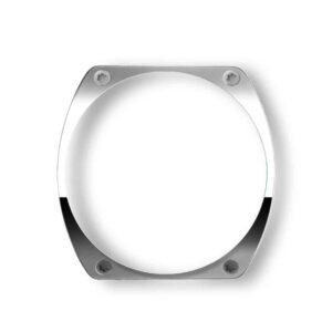 lunette en acier, steel bezel