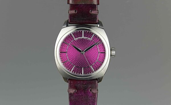 montre violet, purple watch