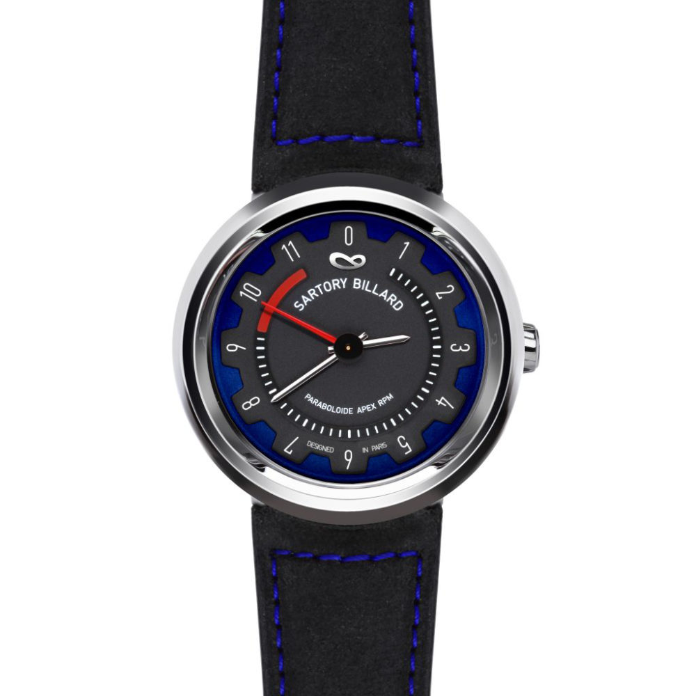 blue sport watch