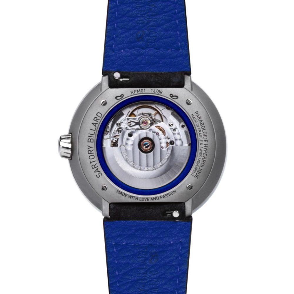 blue watch, montre bleue