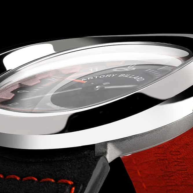 curved watch