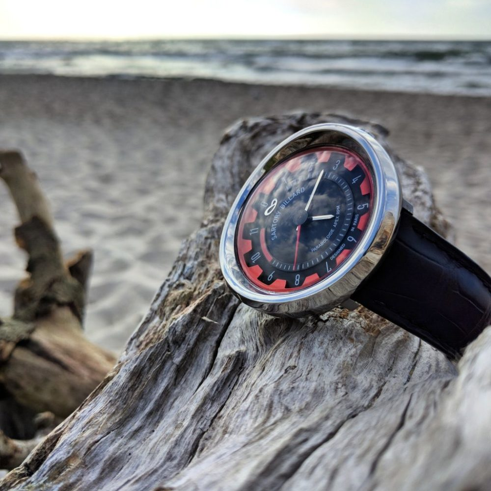 watch and beach
