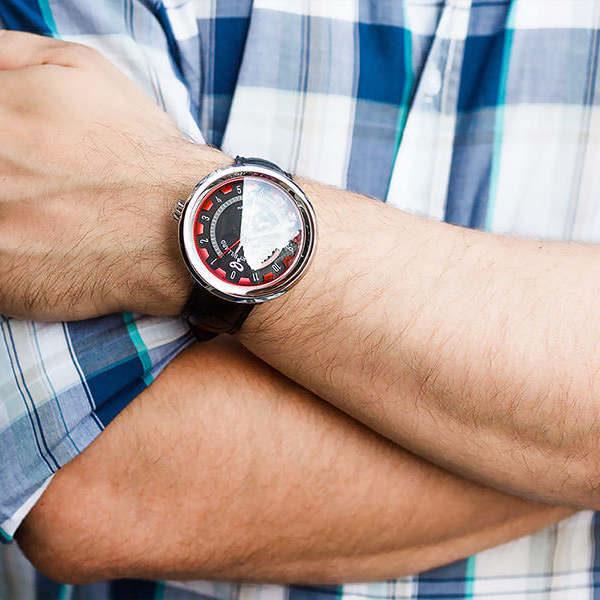 man with a watch, homme avec une montre