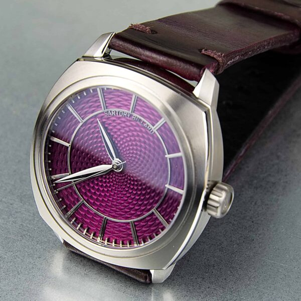 sartory billard montre sur mesure, bespoke watch