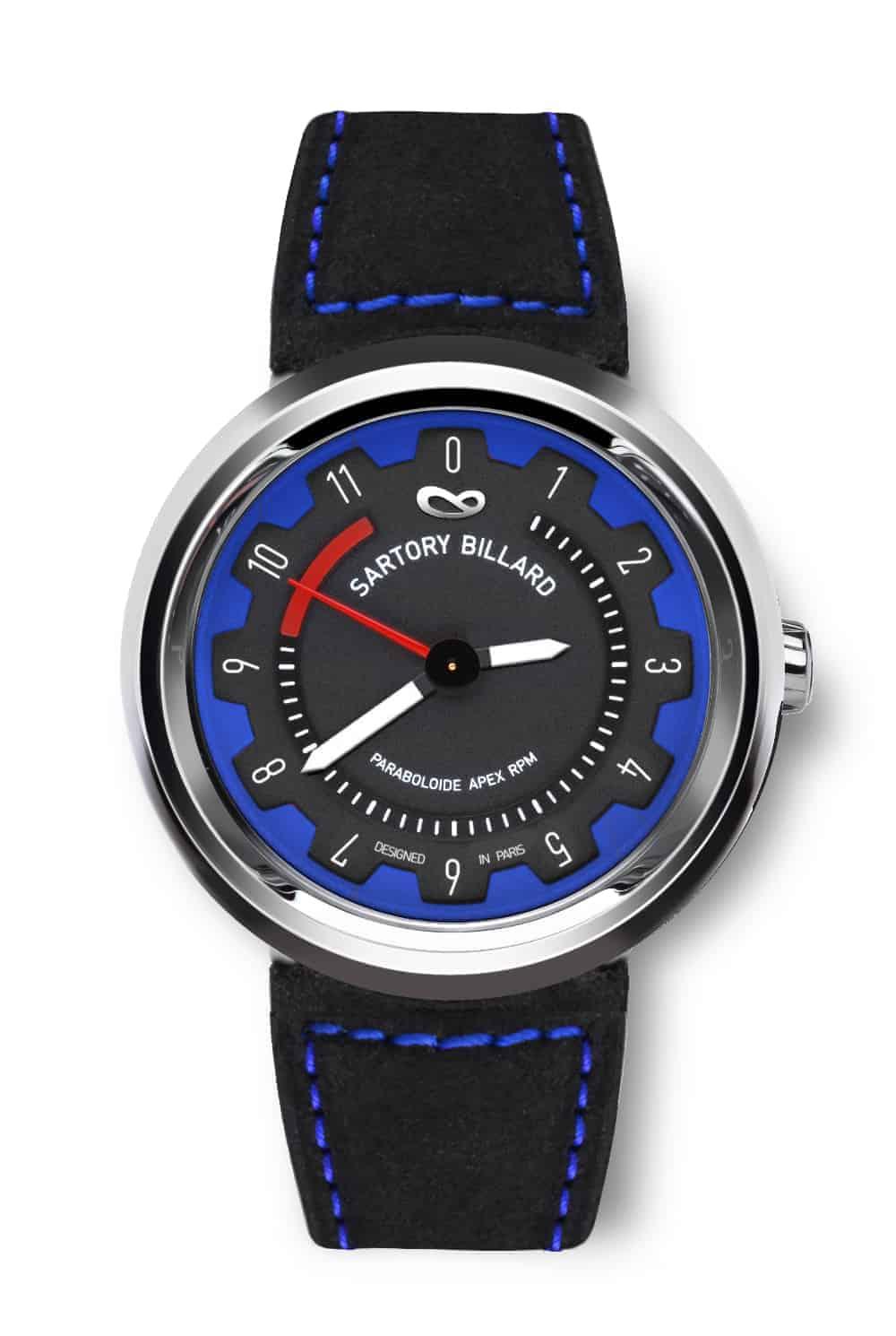 montre bleue, blue watch