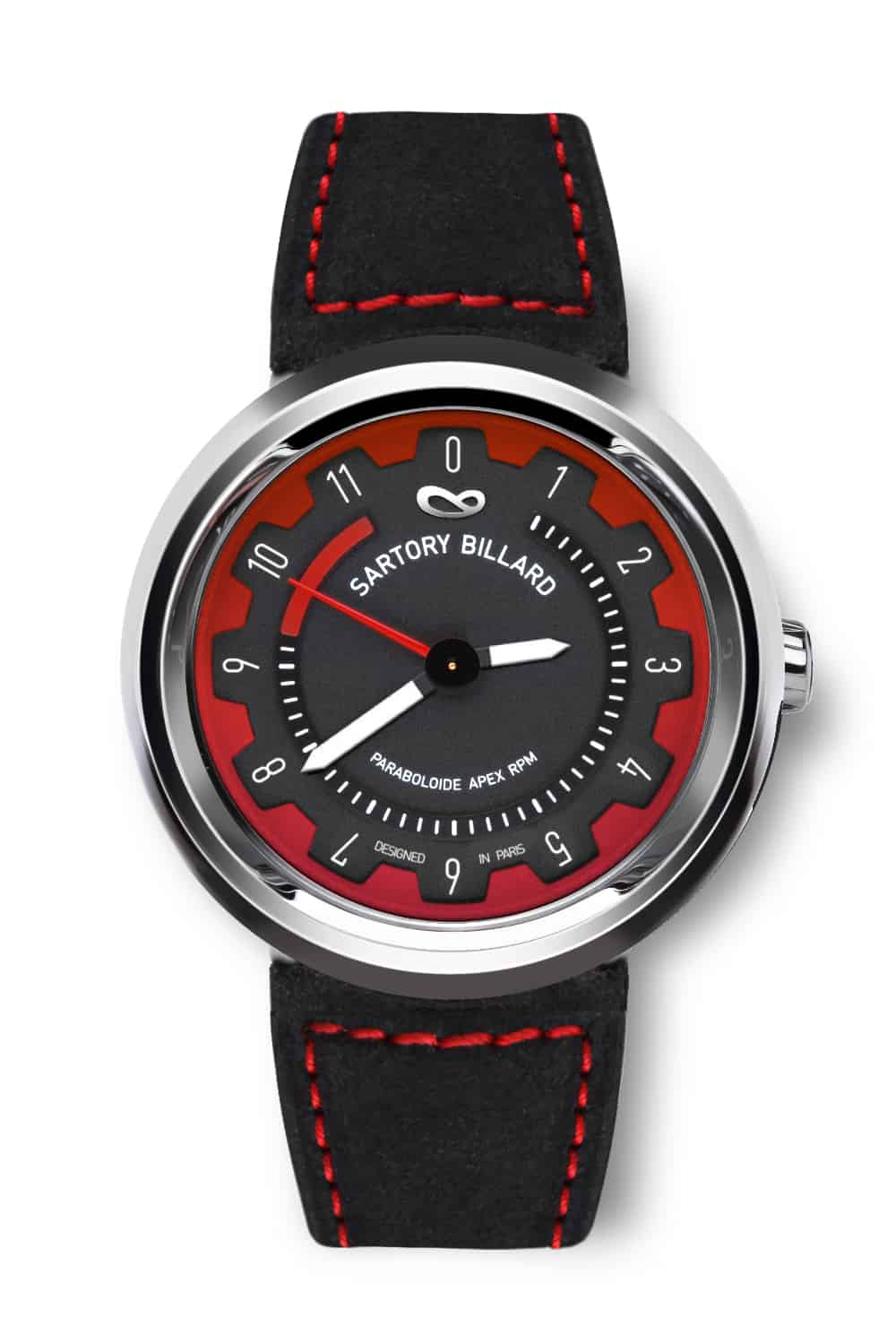 montre rouge, red watch