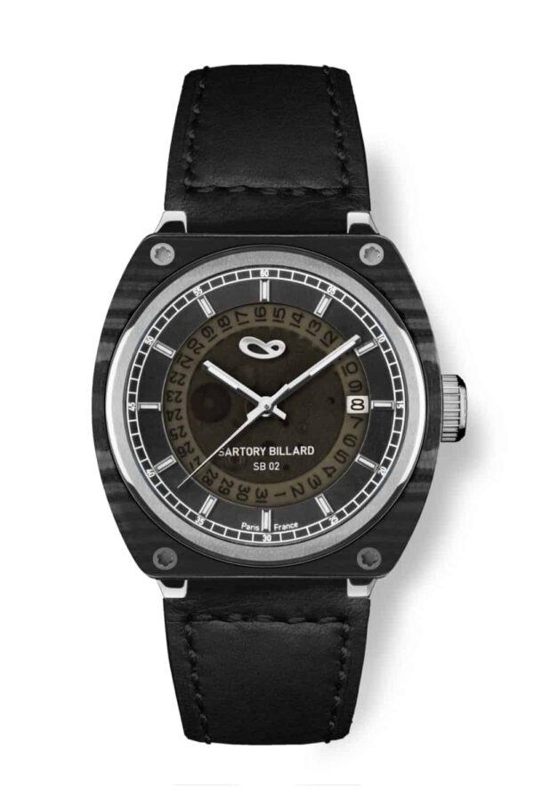 carbon watch, montre carbone