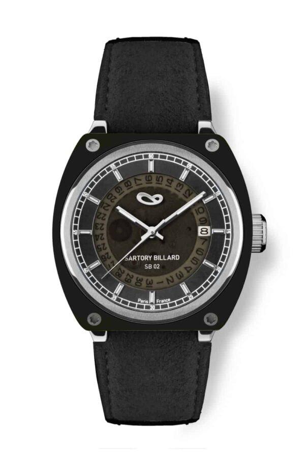 black watch, montre noire