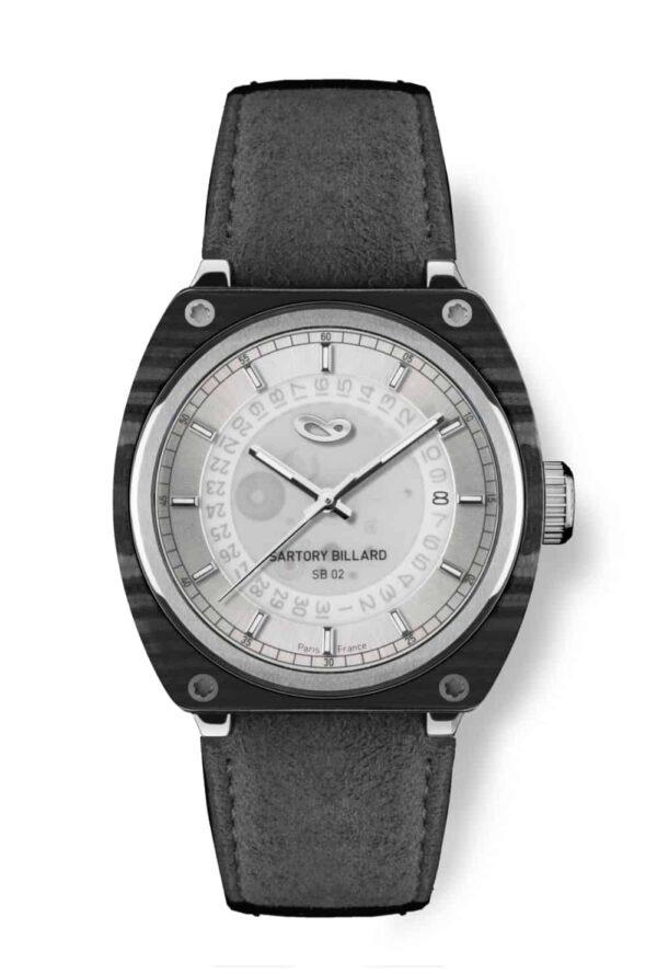carbon watch, montre en carbone