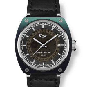 green watch, montre verte