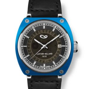 blue watch, montre bleu