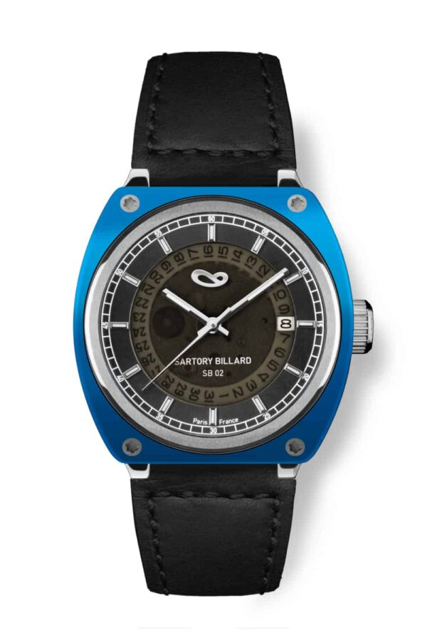 blue watch, montre bleu