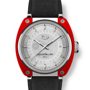 red and white watch, montre rouge et blanche
