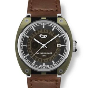 montre verte , green watch