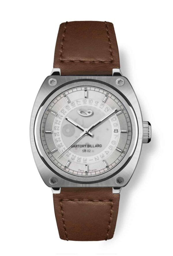 steel watch, montre acier vintage