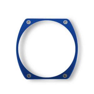 blue bezel, lunette bleue