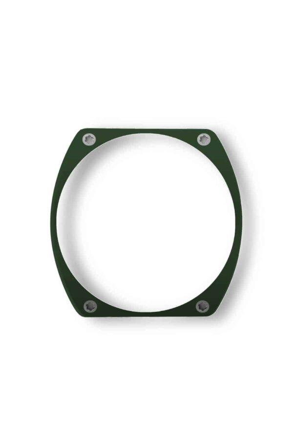 green bezel, lunette verte