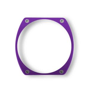purple bezel, lunette pourpre