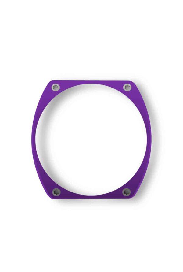 purple bezel, lunette pourpre