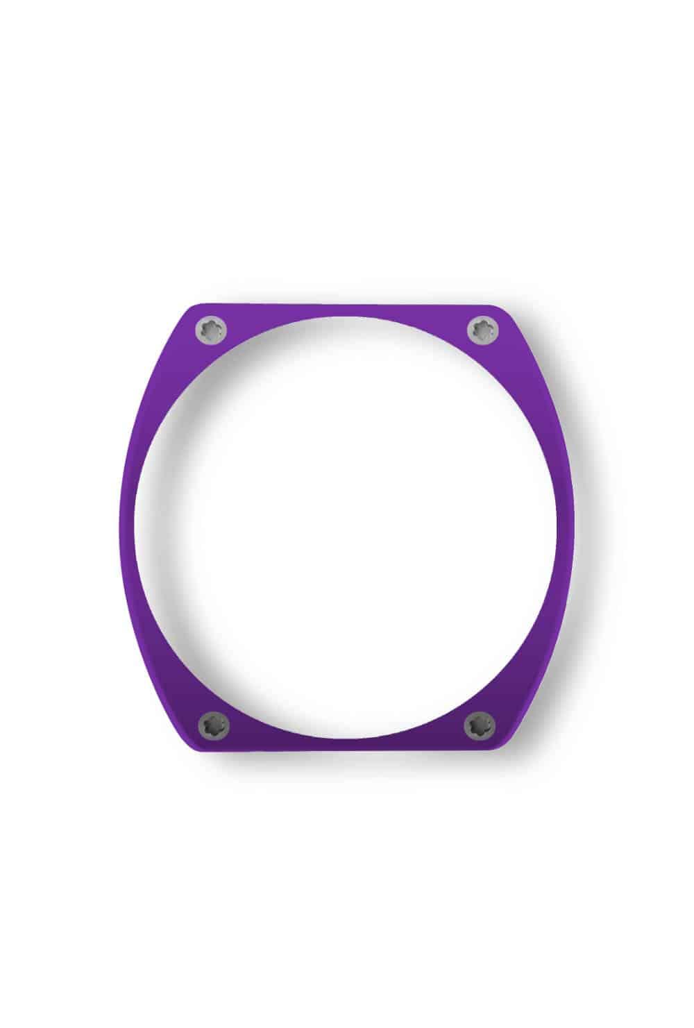 purple bezel, lunette violet