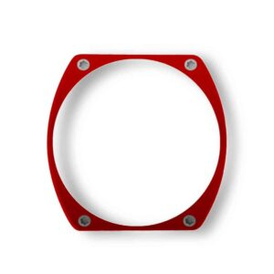 red bezel, lunette rouge