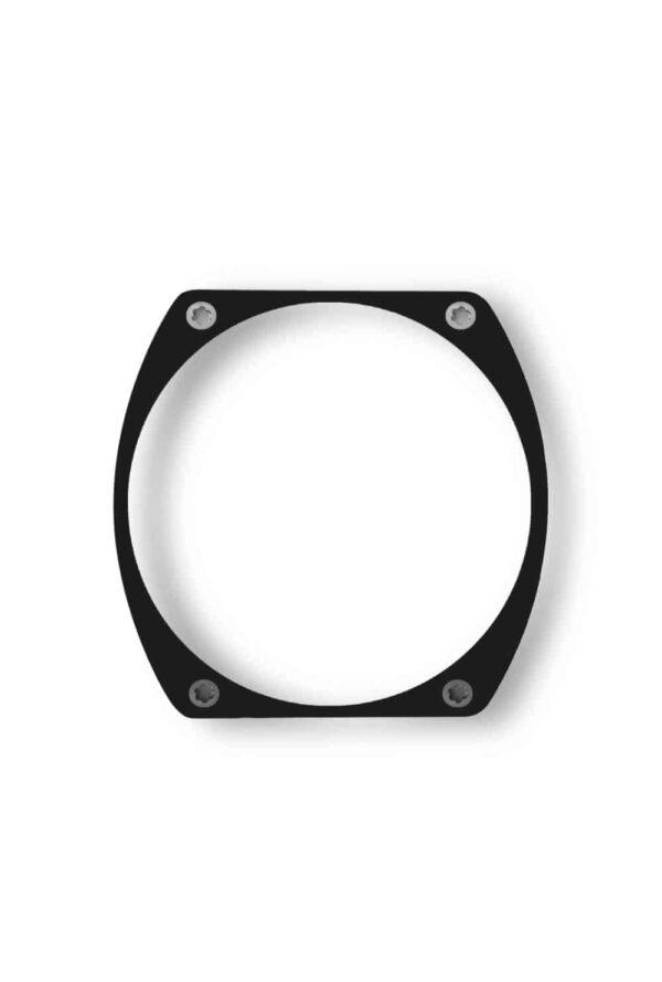 black bezel, lunette noire