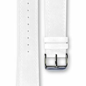 white leather strap, bracelet cuir blanc